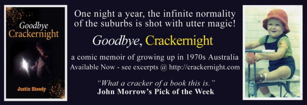"Bookseller & Publisher Magazine ad for ""Goodbye, Crackernight"""