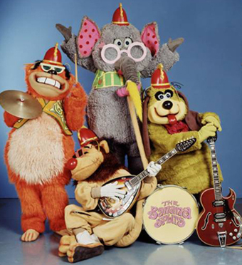 THE BANANA SPLITS!