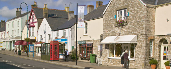 Cowbridge High Street, Wales