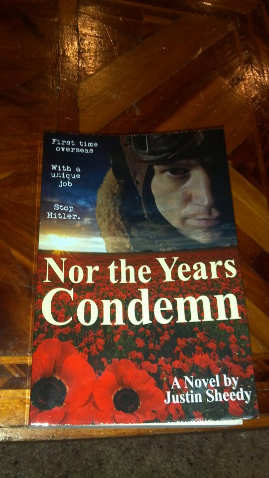 Nathan Dickey's copy of Nor the Years Condemn, received via AMAZON