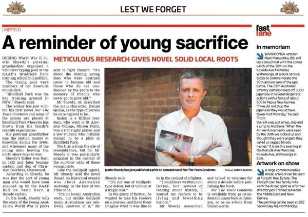 North Shore Times 25 April 2012