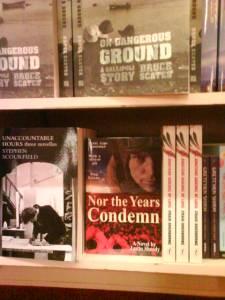 Nor the Years Condemn on Dymocks shelf