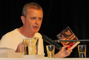 Justin Sheedy at Gloucester Writers' Festival