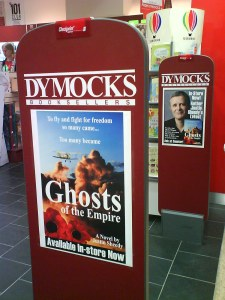 Justin Sheedy at Dymocks