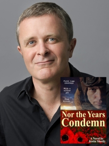 Author Justin Sheedy pic by Emmy Etie