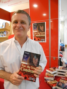 Author Justin Sheedy at Dymocks Broadway Record-Breaking Event