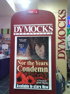 Nor the Years Condemn in Dymocks Macquarie Centre