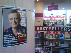 Set for Australia Day, Dymocks Bondi Junction