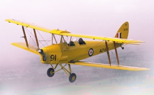 """De Havilland Tiger Moth - as featured in """"Ghosts of the Empire"""""""