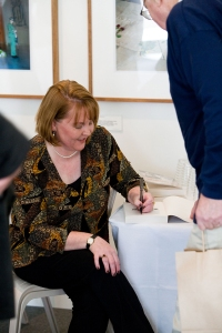 Kristen signing at recent book launch