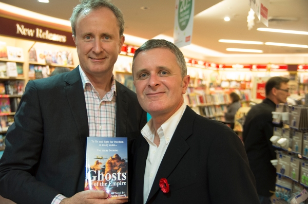 Author with brother Michael Sheedy