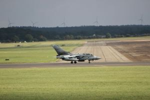 A Tornado bomber at modern-day RAF Marham - Photo by Mark Bentley