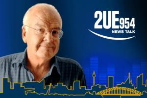 Presenter Clive Robertson