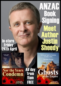 Justin Sheedy Dymocks Preview